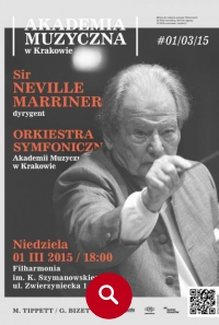 Koncert z Sir Neville Marriner  !!!